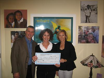 CSCMP San Francisco Roundtable Donates $1241 To Milagro Foundation